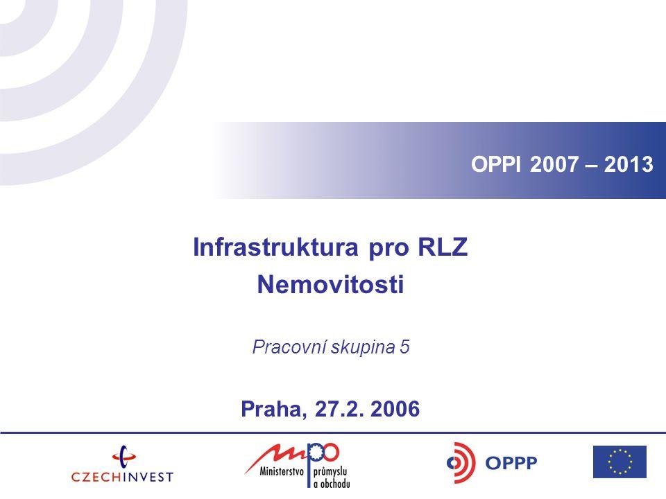 Infrastruktura pro RLZ