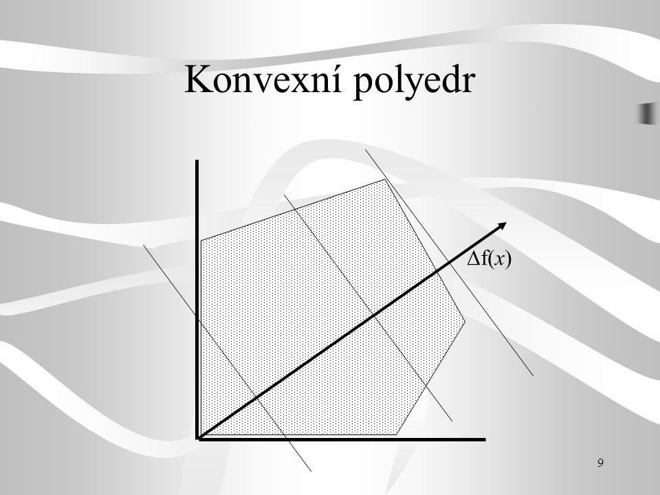 Konvexní polyedr f(x)