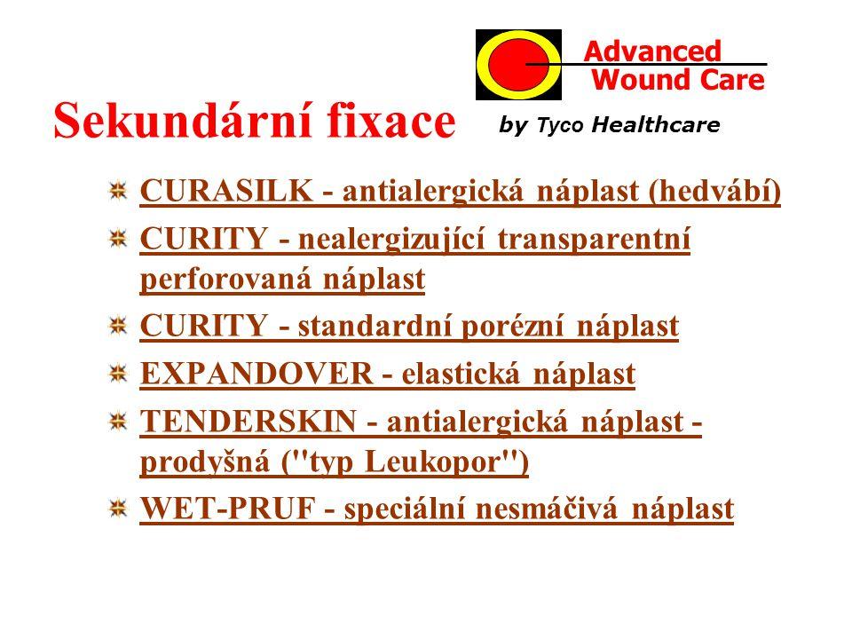 Sekundární fixace CURASILK - antialergická náplast (hedvábí)