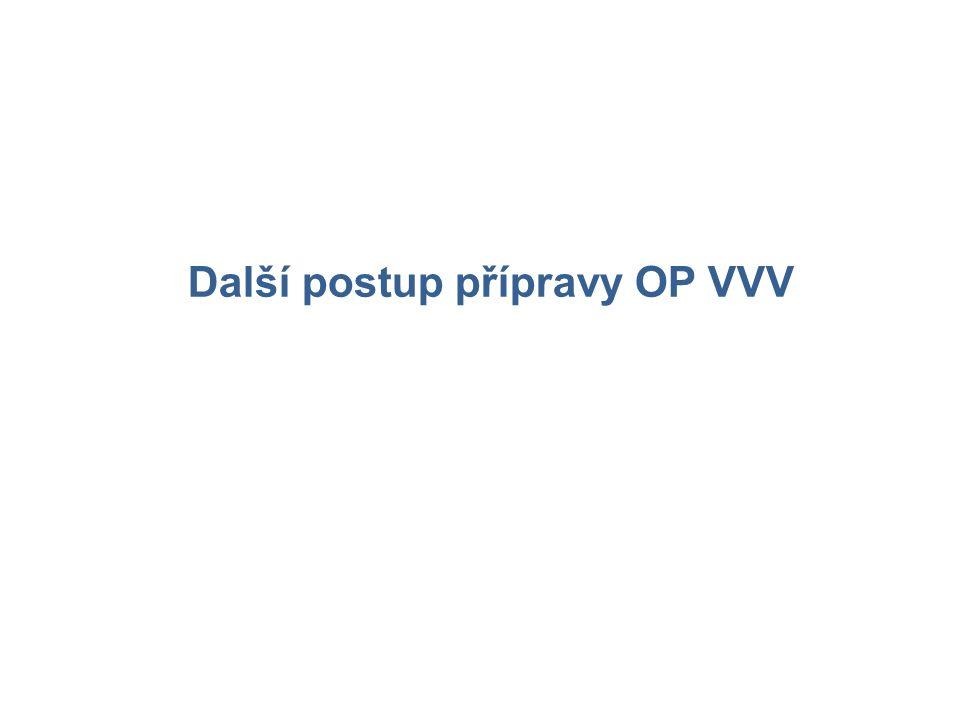 Další postup přípravy OP VVV
