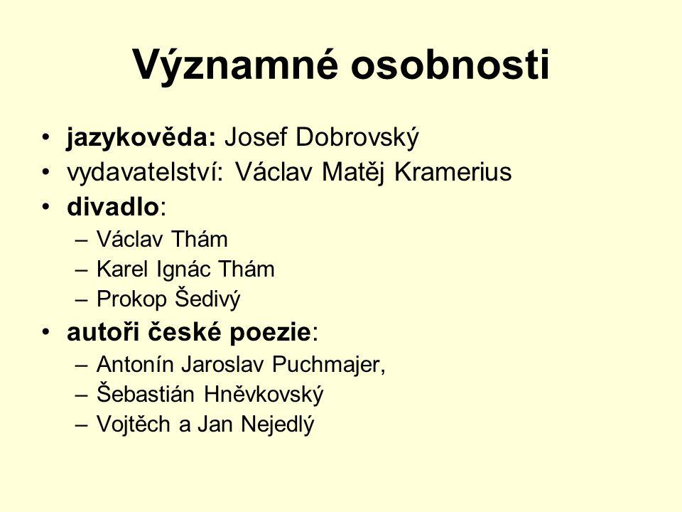 Významné osobnosti jazykověda: Josef Dobrovský