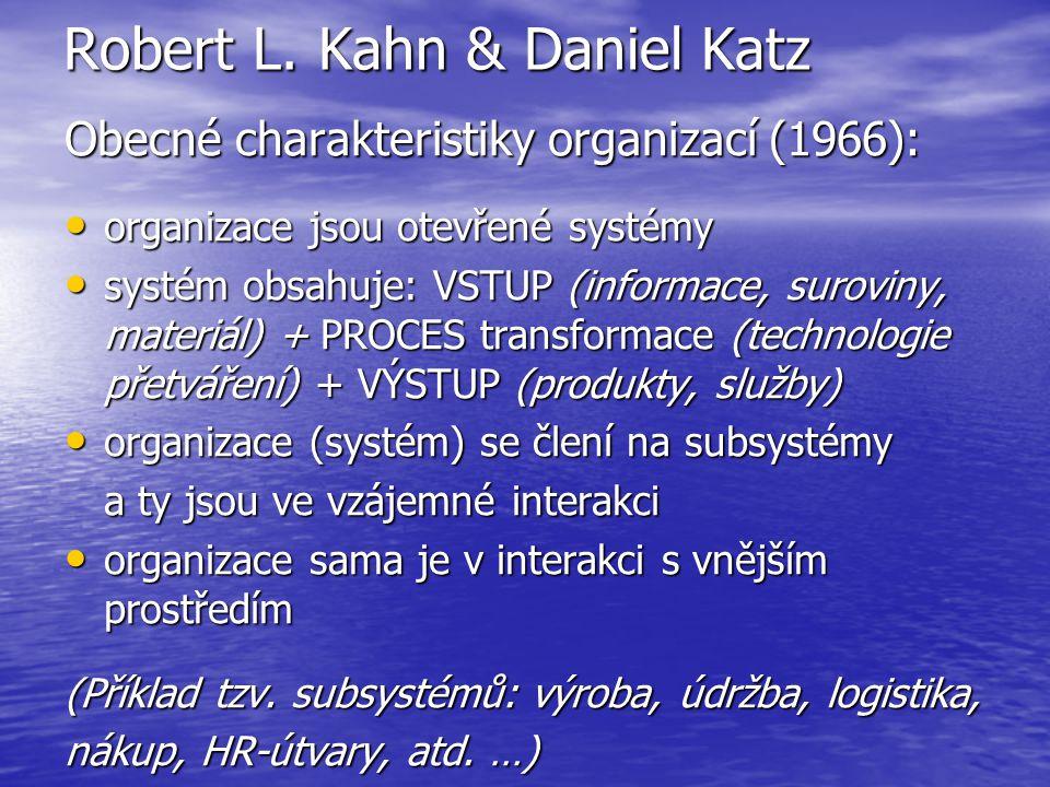 Robert L. Kahn & Daniel Katz