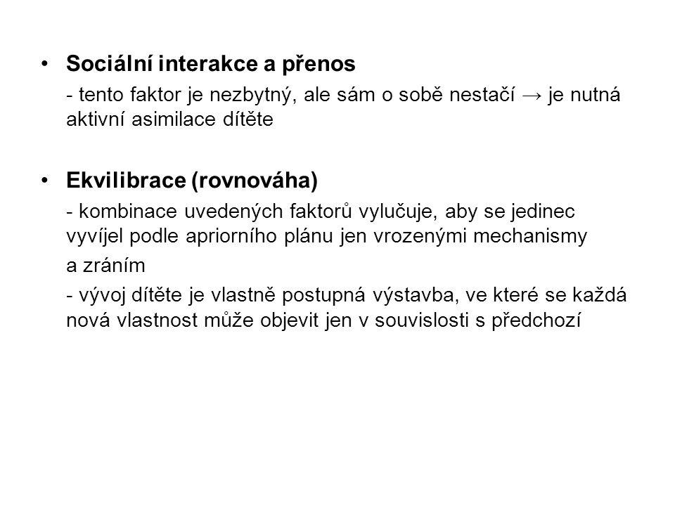Sociální interakce a přenos