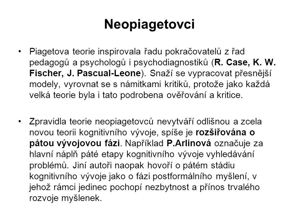 Neopiagetovci