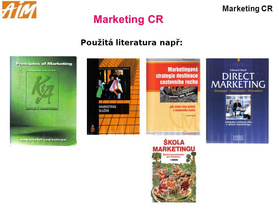 Použitá literatura např: