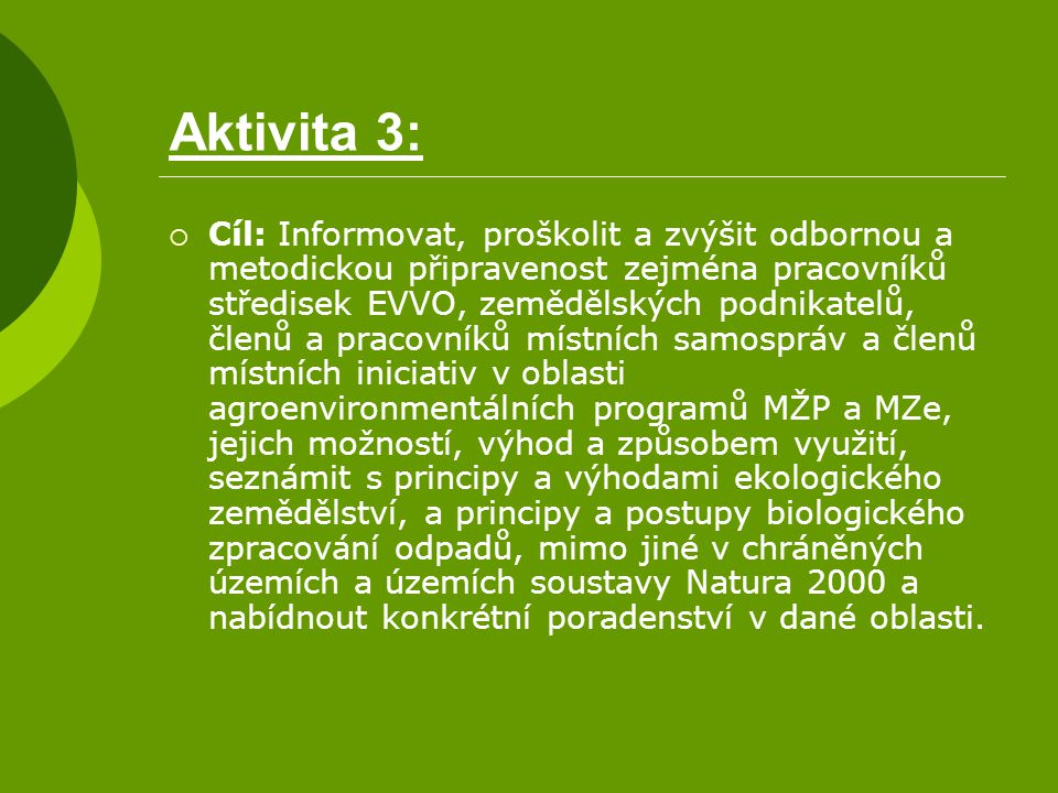 Aktivita 3: