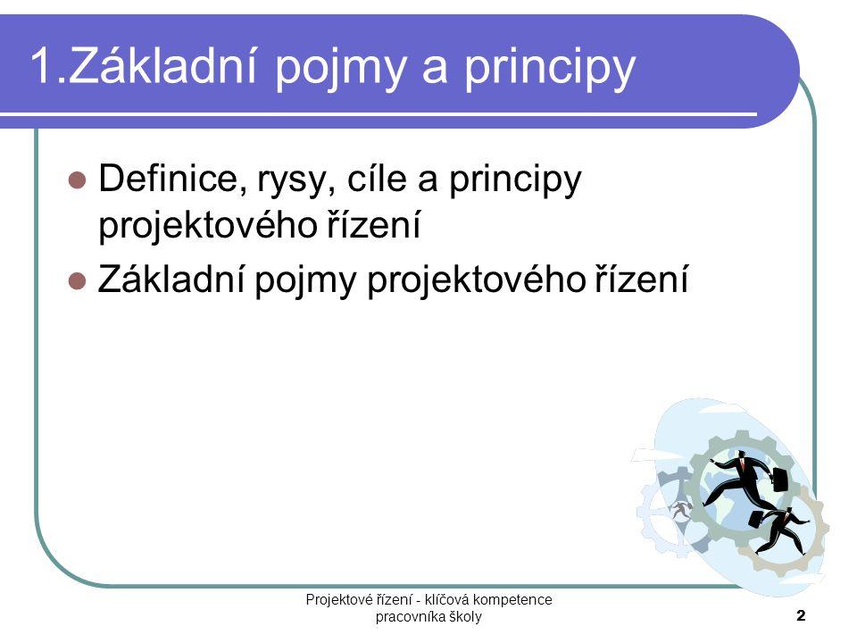 1.Základní pojmy a principy