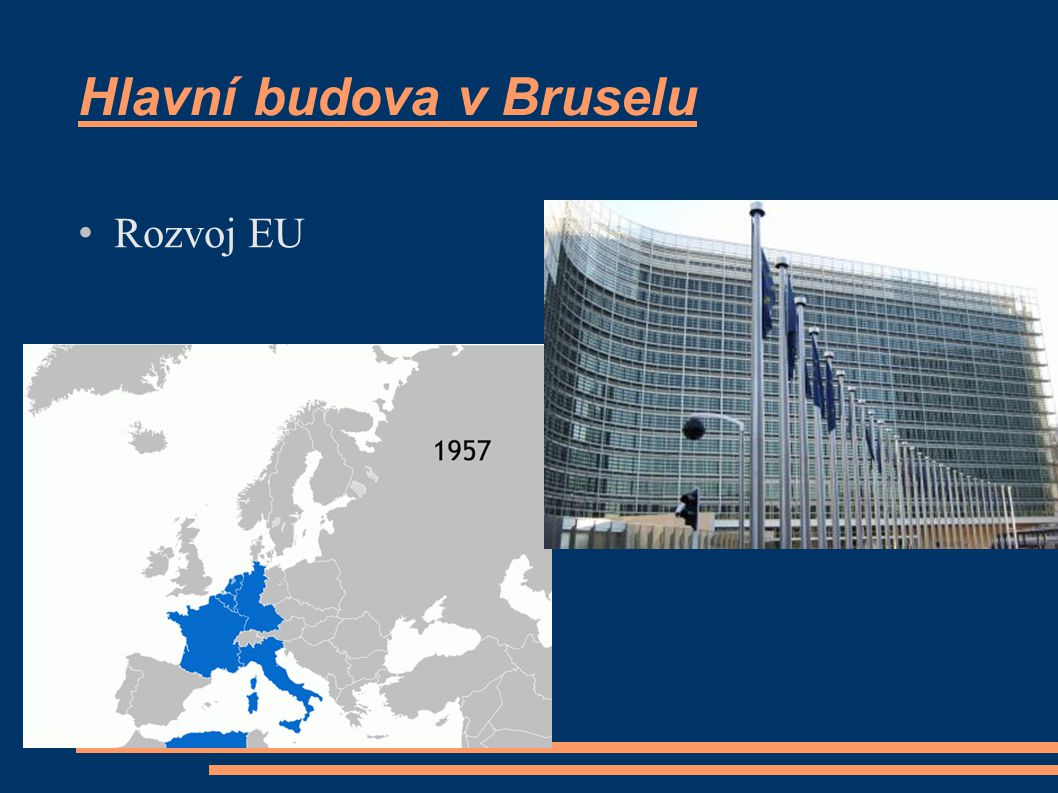 Hlavní budova v Bruselu