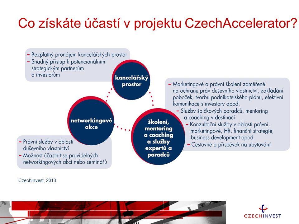 Co získáte účastí v projektu CzechAccelerator