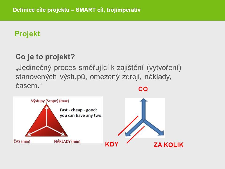 Projekt Co je to projekt