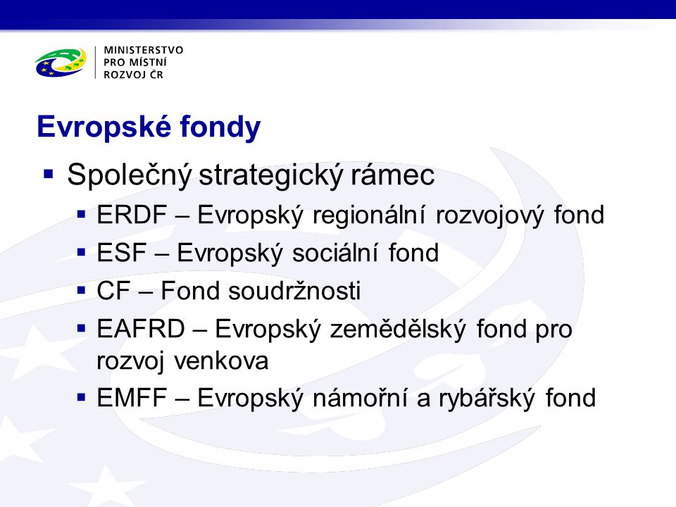 Společný strategický rámec