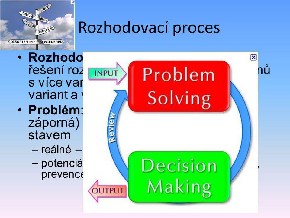 Rozhodovací proces