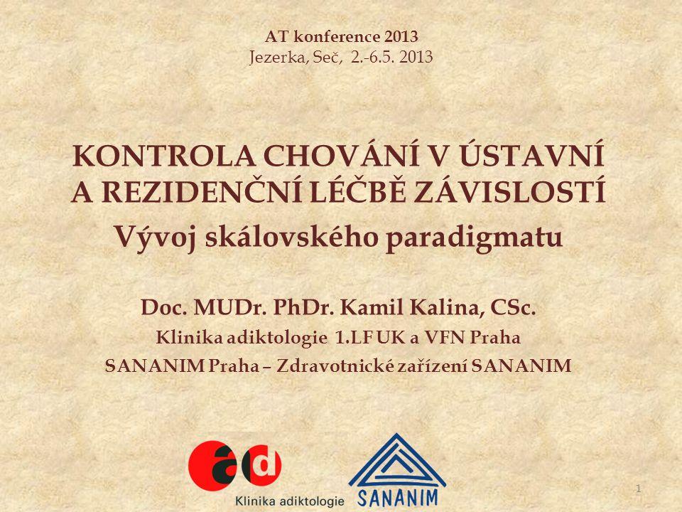 AT konference 2013 Jezerka, Seč, 2.-6.5. 2013