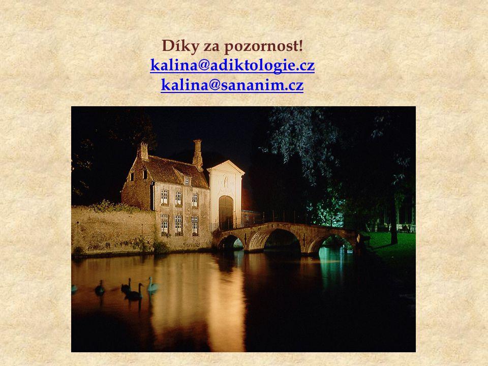 Díky za pozornost! kalina@adiktologie.cz kalina@sananim.cz