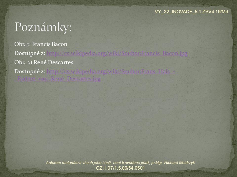 VY_32_INOVACE_5.1.ZSV4.19/Md Poznámky: