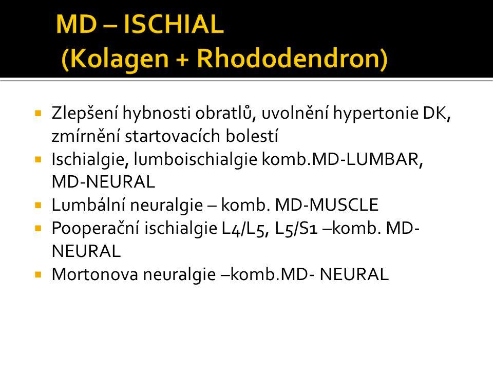MD – ISCHIAL (Kolagen + Rhododendron)