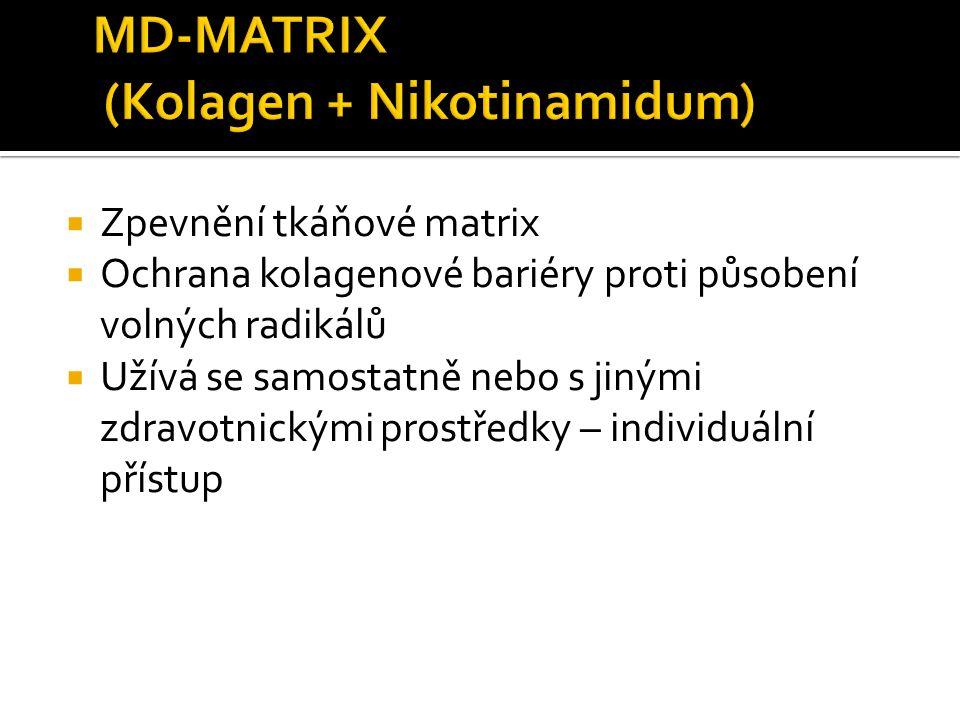 MD-MATRIX (Kolagen + Nikotinamidum)