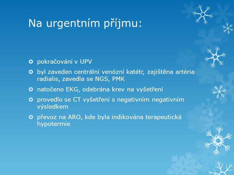 Na urgentním příjmu: pokračování v UPV