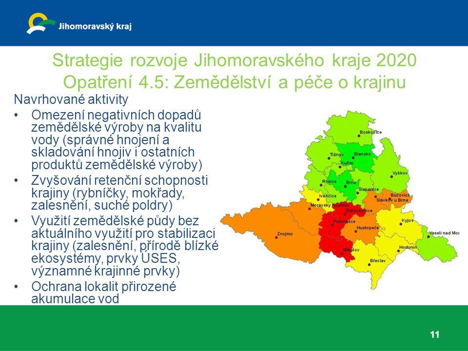 Strategie rozvoje Jihomoravského kraje 2020 Opatření 4