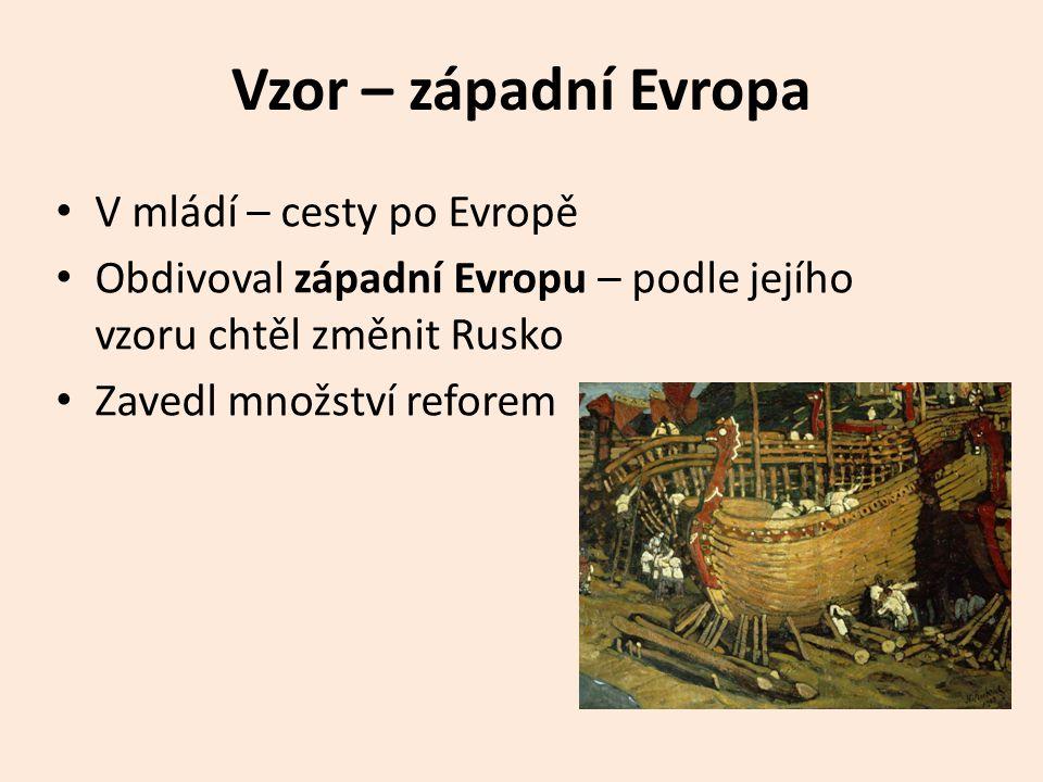 Vzor – západní Evropa V mládí – cesty po Evropě
