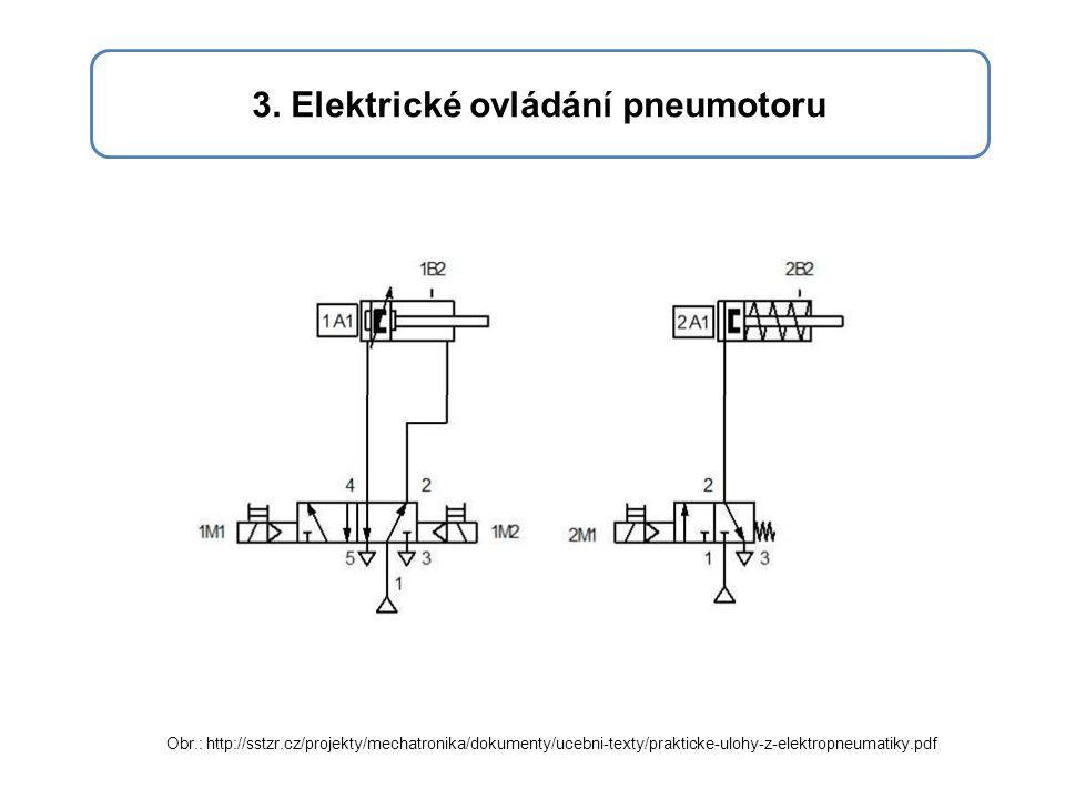 3. Elektrické ovládání pneumotoru