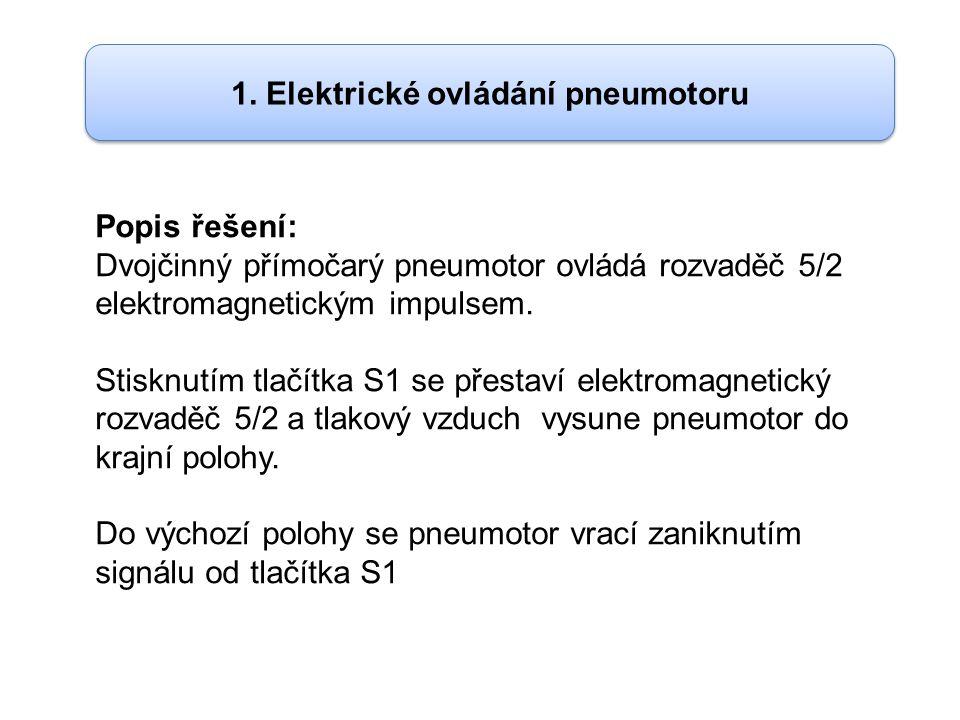 1. Elektrické ovládání pneumotoru