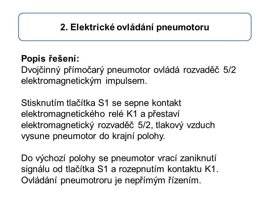 2. Elektrické ovládání pneumotoru