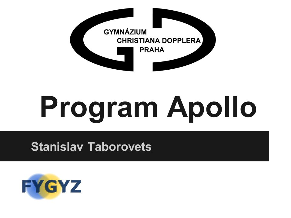 Program Apollo Stanislav Taborovets