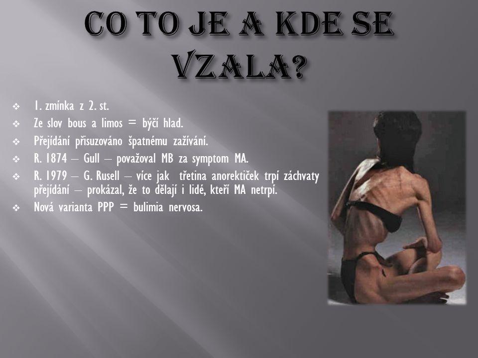CO TO JE A KDE SE VZaLA 1. zmínka z 2. st.