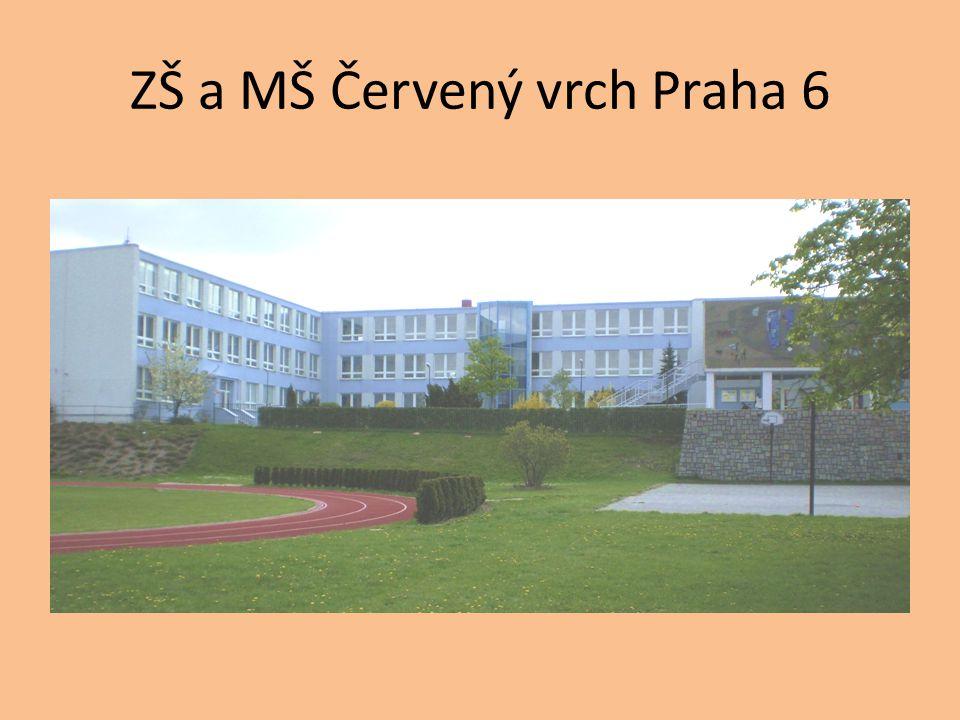 ZŠ a MŠ Červený vrch Praha 6