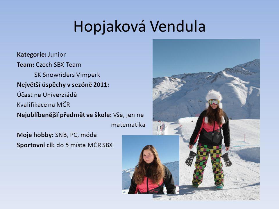 Hopjaková Vendula