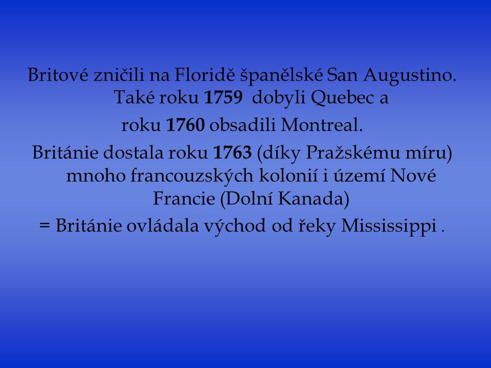 roku 1760 obsadili Montreal.