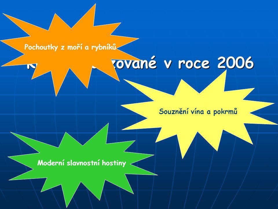 Kurzy realizované v roce 2006