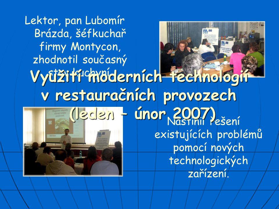 Využití moderních technologií v restauračních provozech