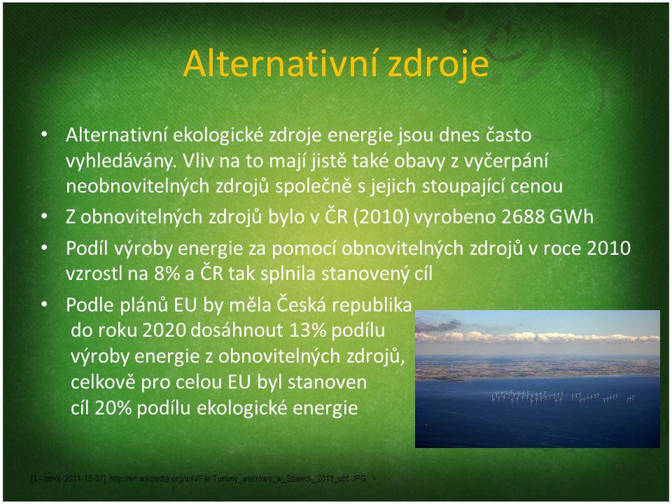Alternativní zdroje
