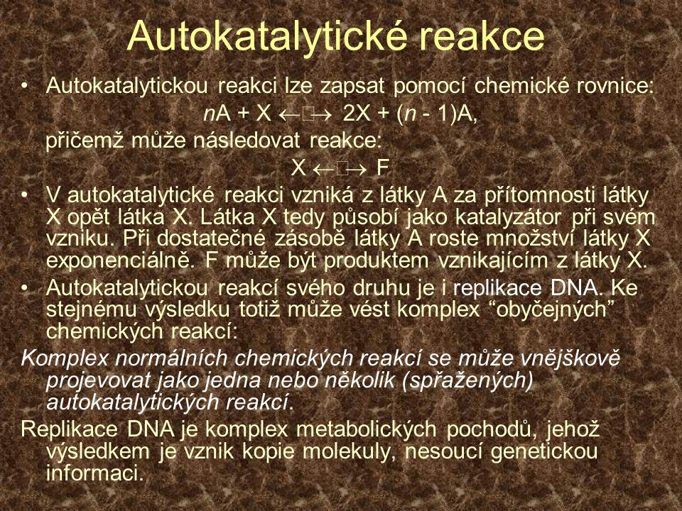 Autokatalytické reakce