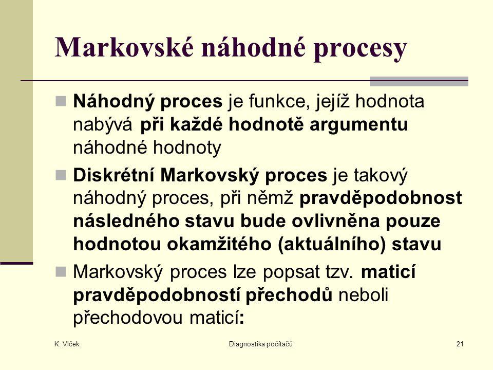 Markovské náhodné procesy