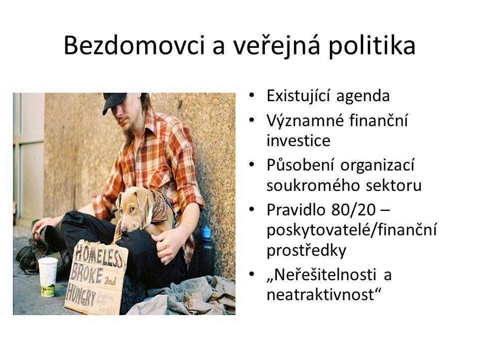 Bezdomovci a veřejná politika