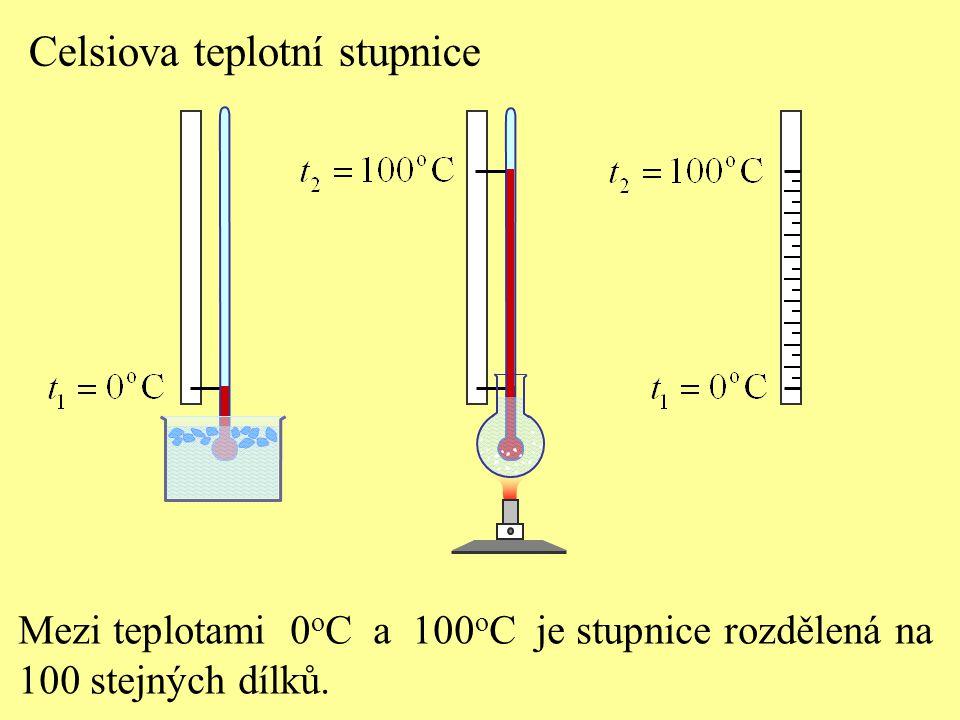 Celsiova teplotní stupnice