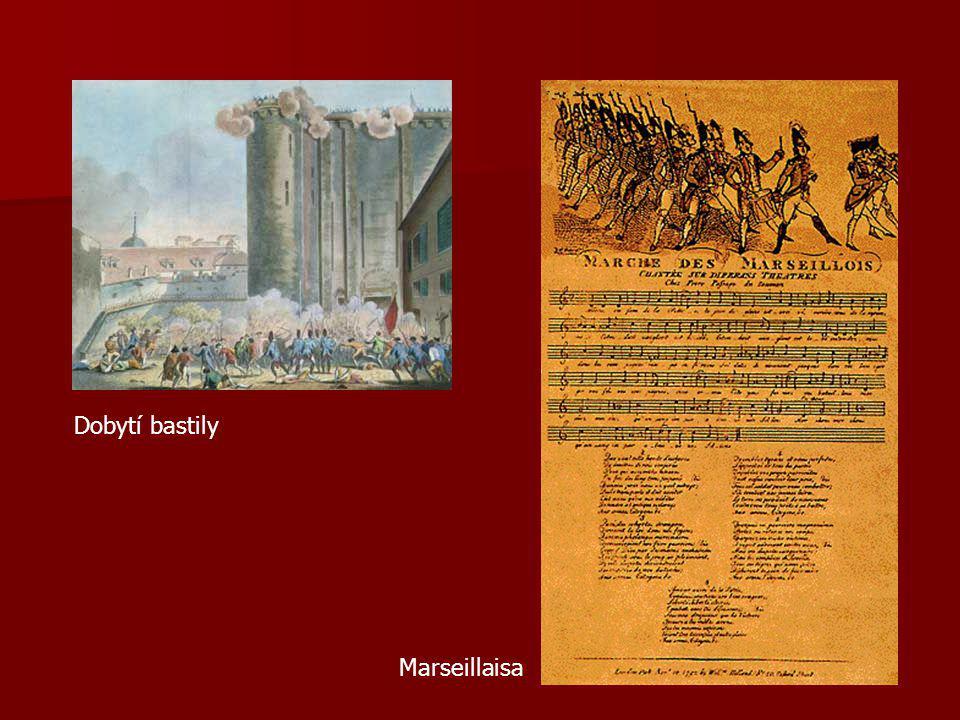 Dobytí bastily Marseillaisa