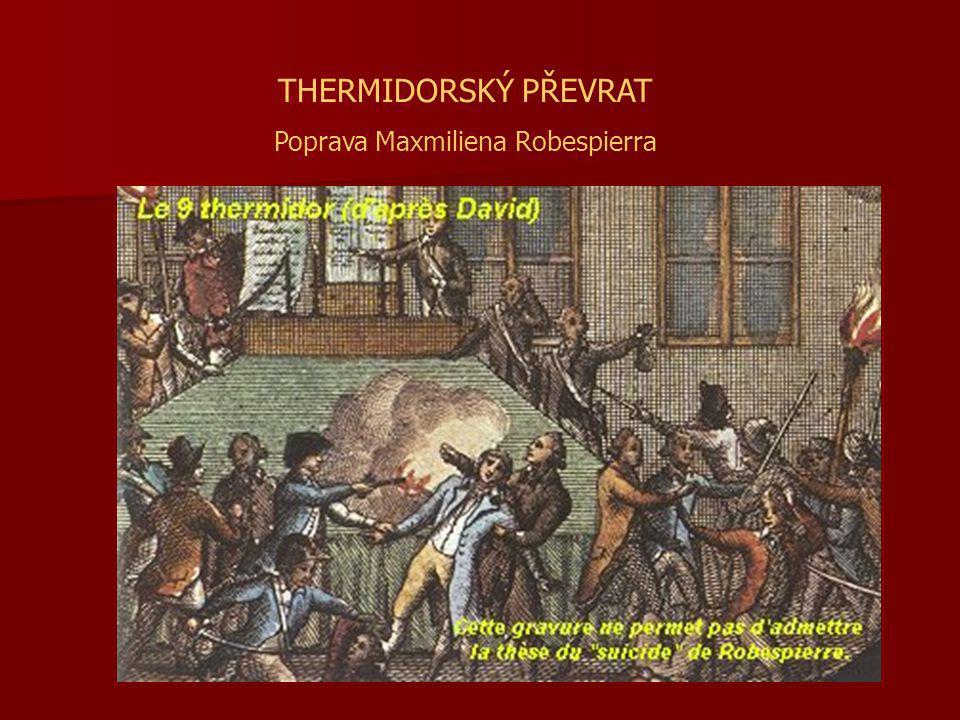 Poprava Maxmiliena Robespierra