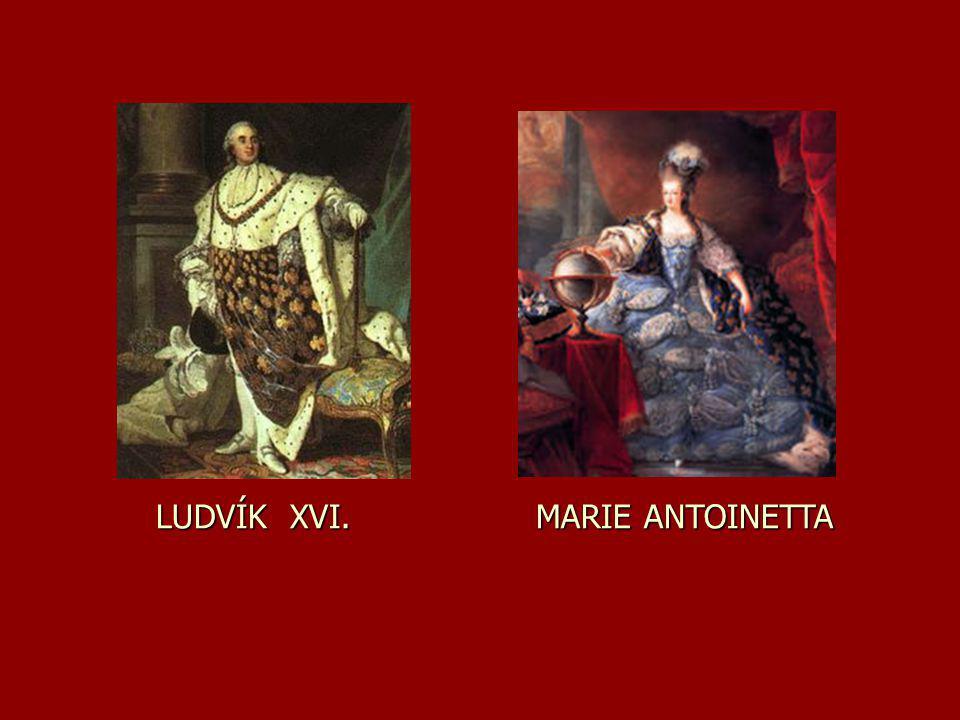 LUDVÍK XVI. MARIE ANTOINETTA