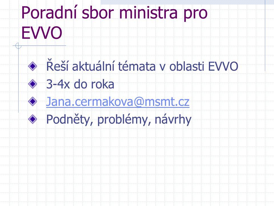 Poradní sbor ministra pro EVVO