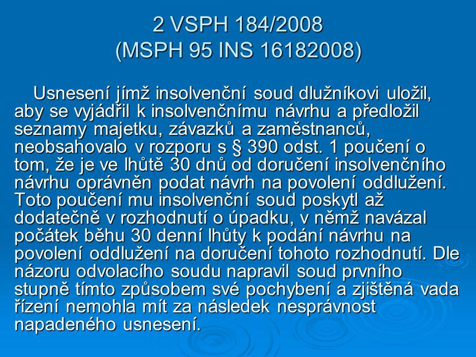 2 VSPH 184/2008 (MSPH 95 INS 16182008)