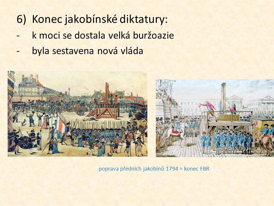 Konec jakobínské diktatury:
