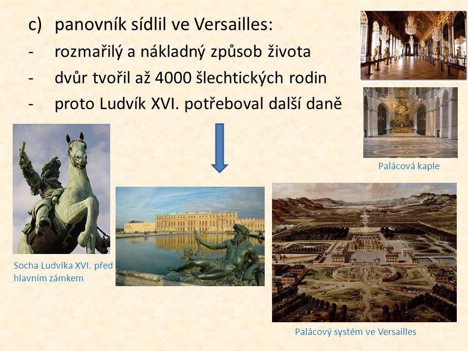 Palácový systém ve Versailles