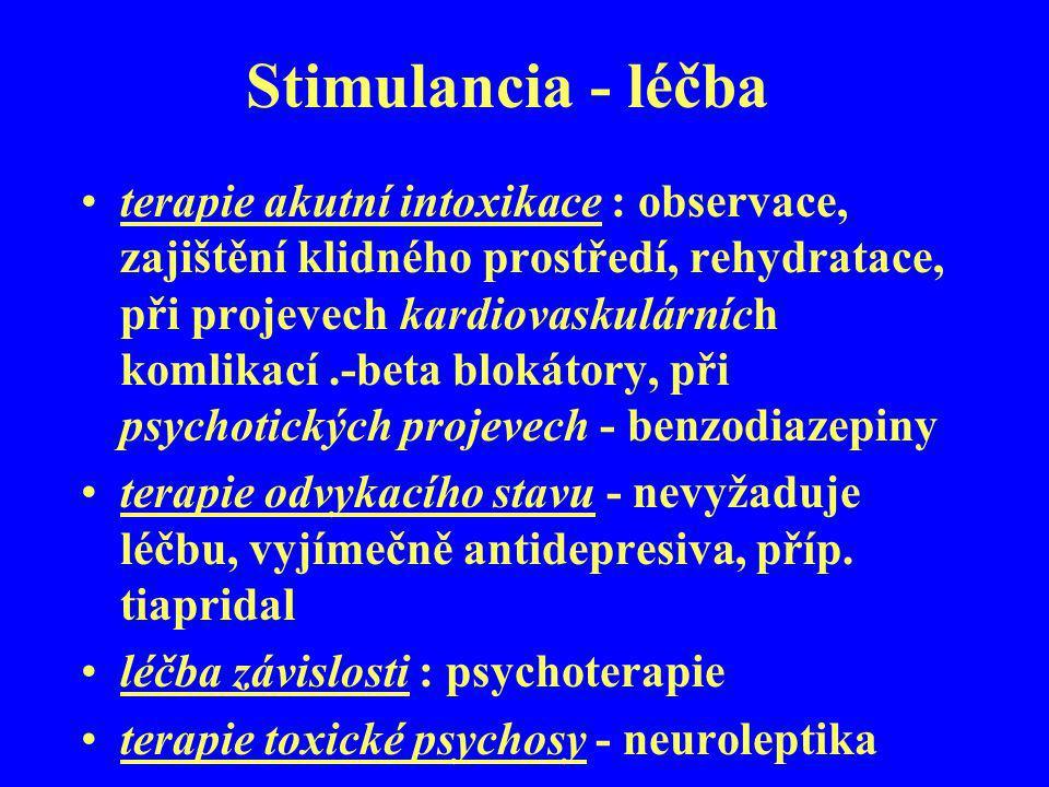 Stimulancia - léčba