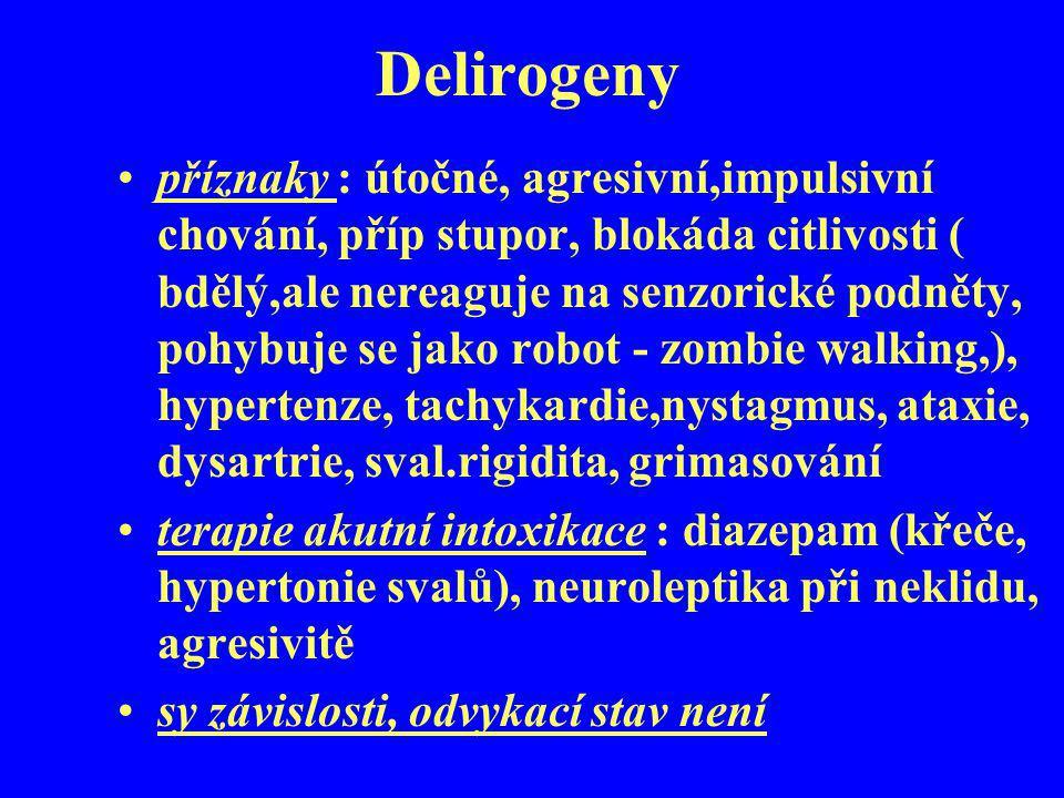 Delirogeny