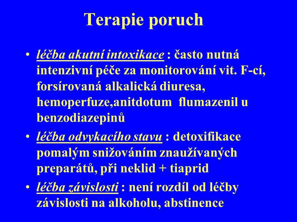 Terapie poruch