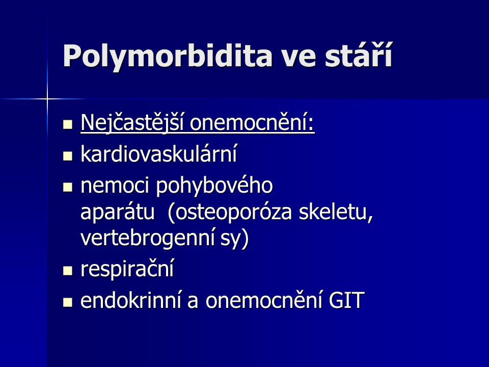 Polymorbidita ve stáří